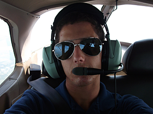 In his second year at R-MA Summer Flight Camp, Ryan Klempin successfully soloed in a Cessna 172 Skyhawk.