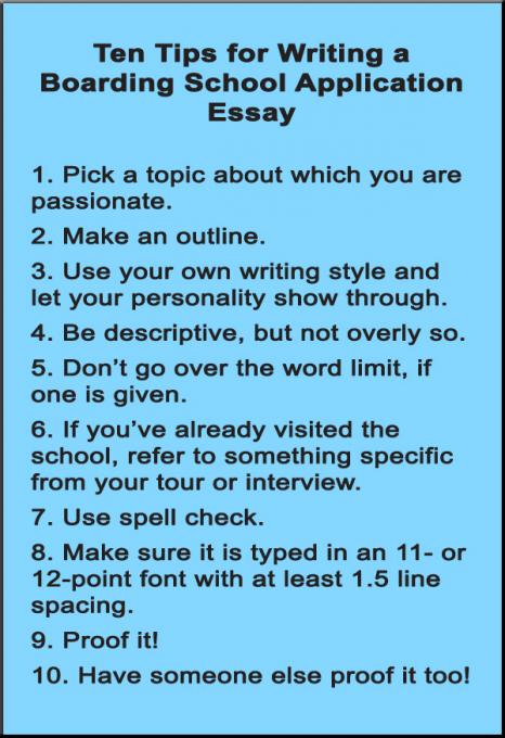 Tips For Good Essay Writing