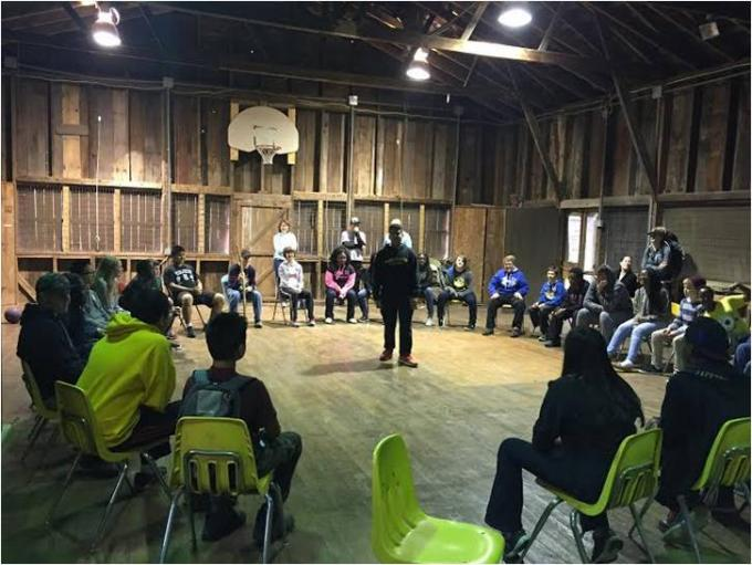 The Middle School Interact Club enjoyed a retreat this past weekend.