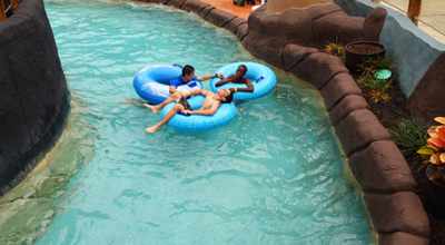 Water parks, amusement parks, and state parks are popular destinations for weekend trips at boarding school.