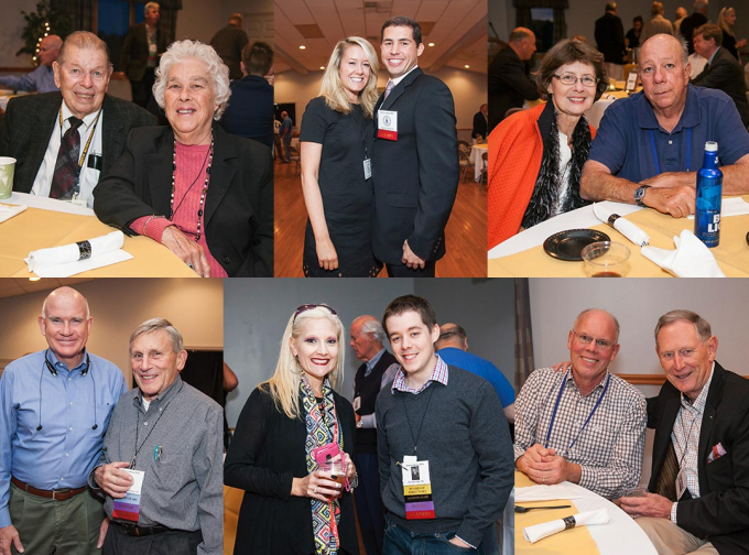 Alumni from across the decades gathered at the Welcome Back Dinner on Friday night.