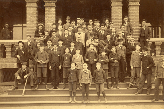 The first student body at Randolph-Macon Academy