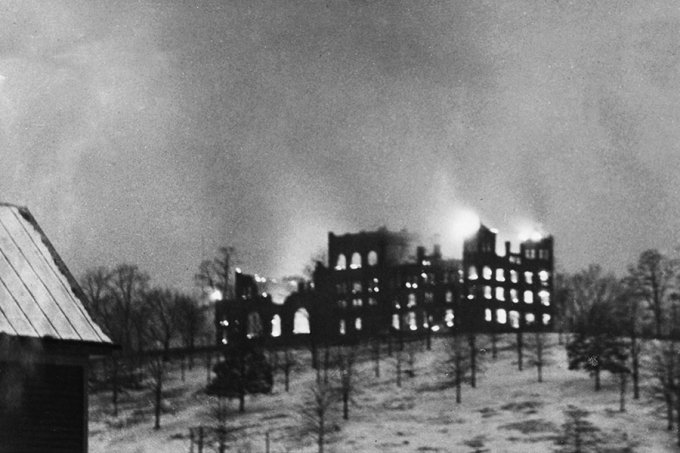 The Great Fire of 1927 at R-MA's boarding school