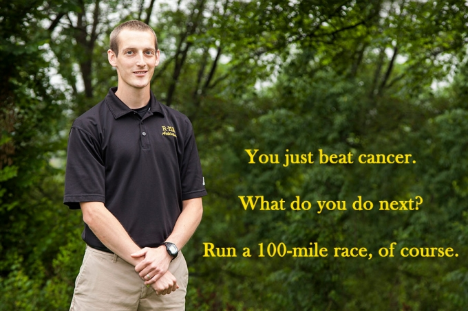 Josh Ilnicki conquered cancer, then went on to conquer a 100-mile race, making him an inspiration to his students and his cross country and track athletes at Randolph-Macon Academy.