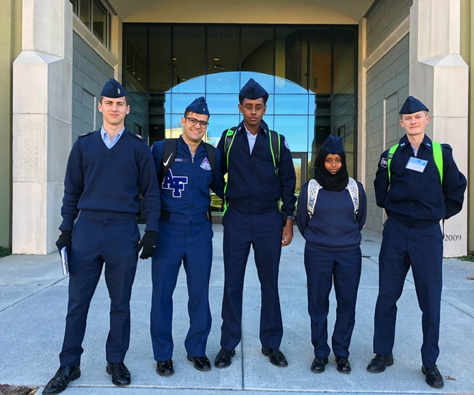 R-MA students attended the 2017 Leadership Conference held at Virginia Military Institute. In addition to learning leadership skills, the group met up with a couple of R-MA graduates.