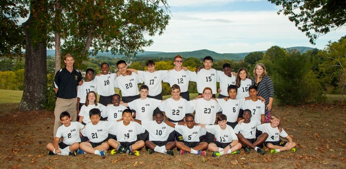 The Middle School Soccer Team won the Valley Middle School Conference Tournament.