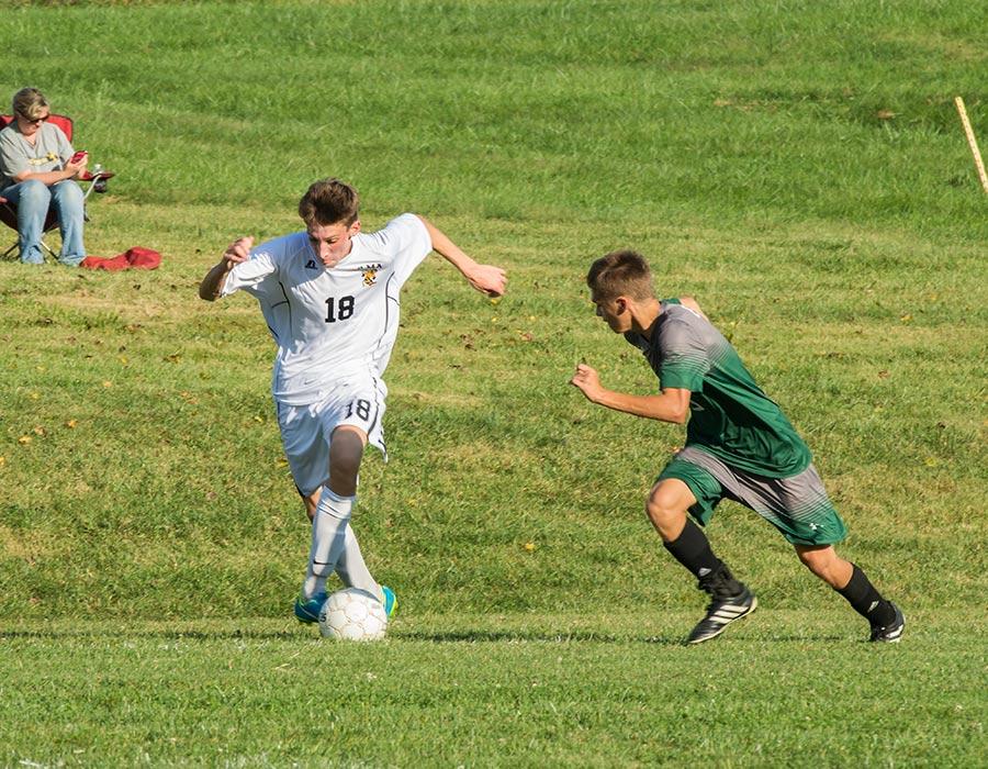 Virginia boarding school soccer