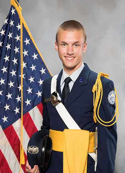 R-MA Falcon Scholar Jake Hannas '19 has earned a spot at the U.S. Air Force Academy. He is also well on his way to earning his private pilot certification.
