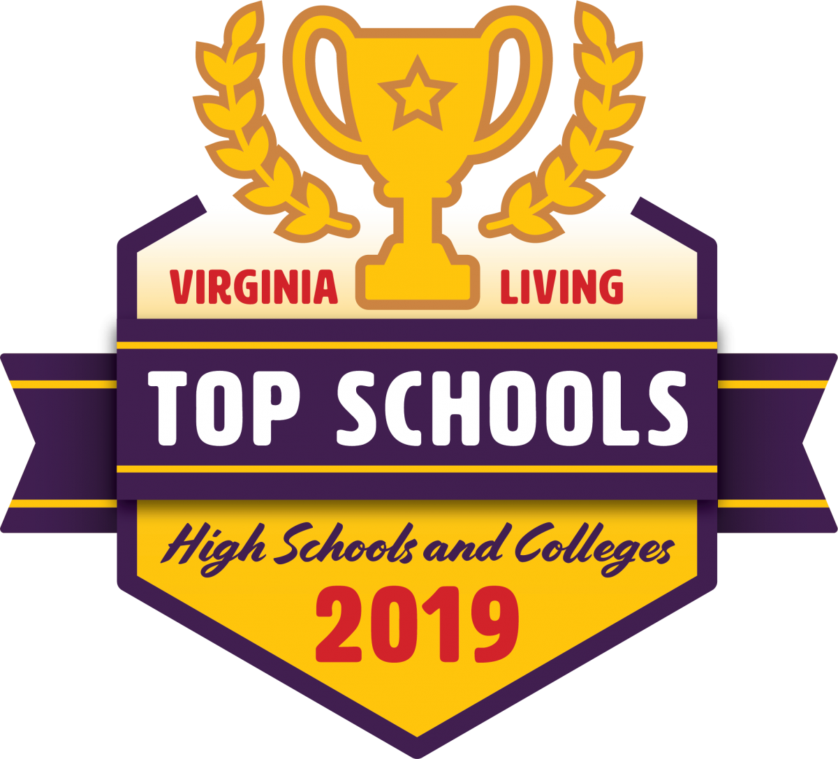 "Randolph-Macon Academy has been named one of Virginia's ""Top Schools"" by Virginia Living Magazine."