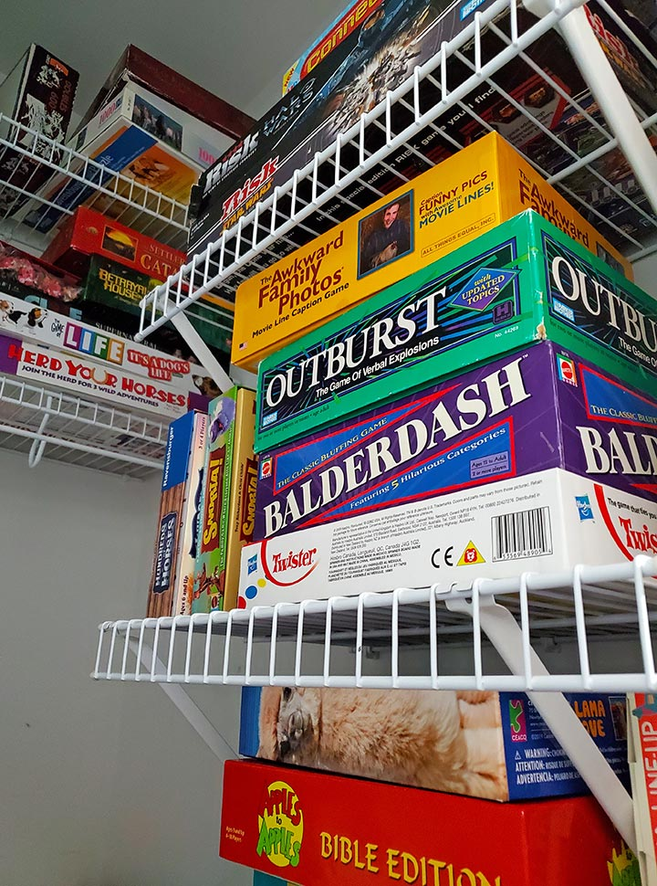 Head into that old storage closet and pull out the family games, no matter how old or childish they are! Sometimes the ones intended for young children end up creating the most laughter!